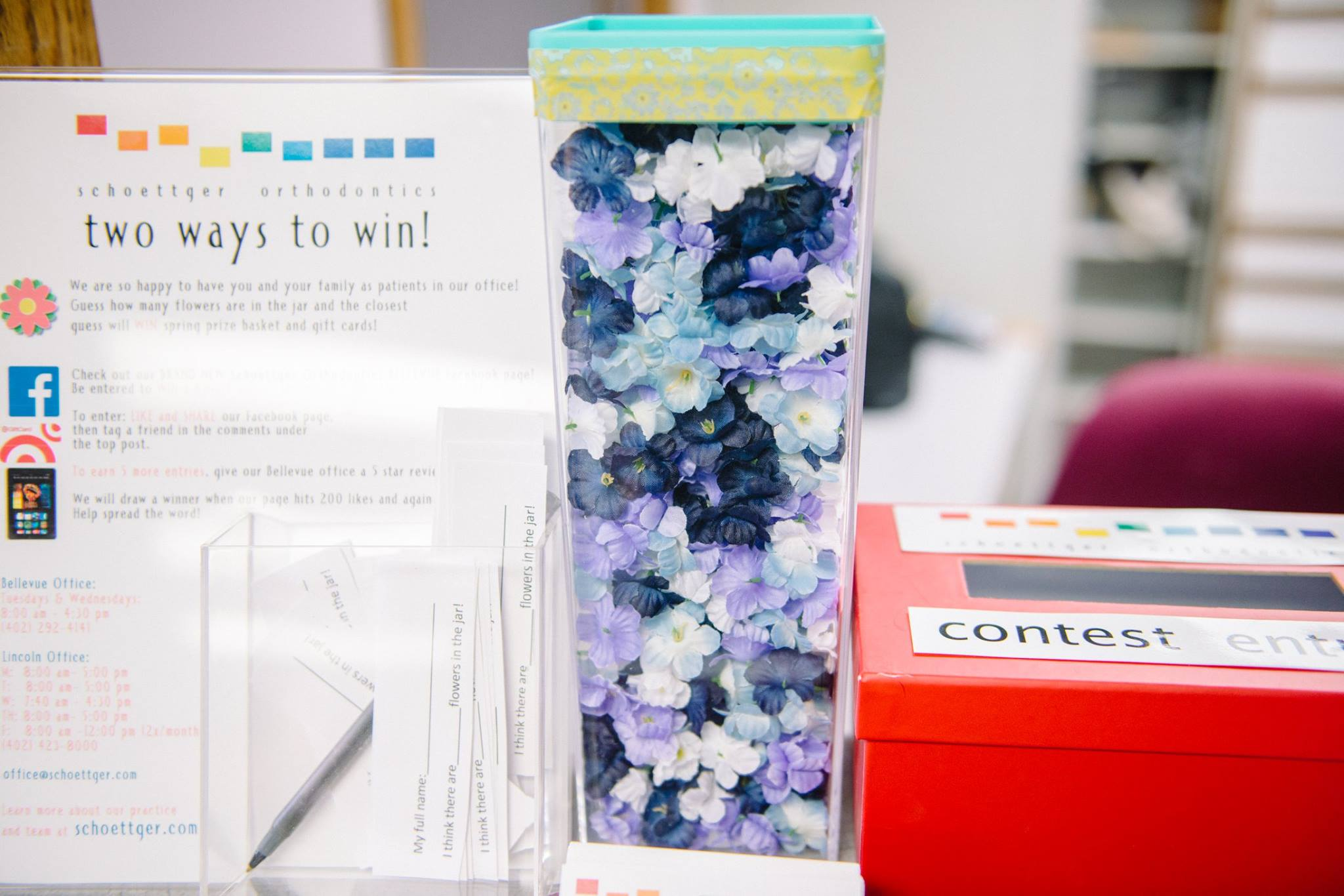 Guess How Many Spring Flowers Are In Our Jar For A Chance