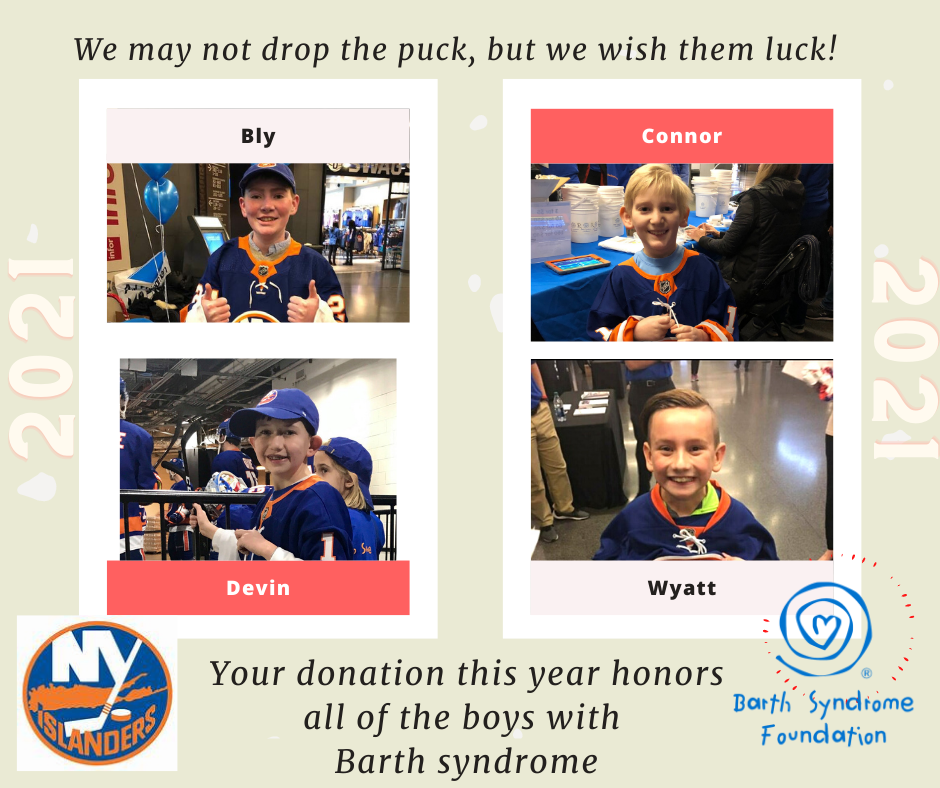 #BarthStrong with the New York Islanders