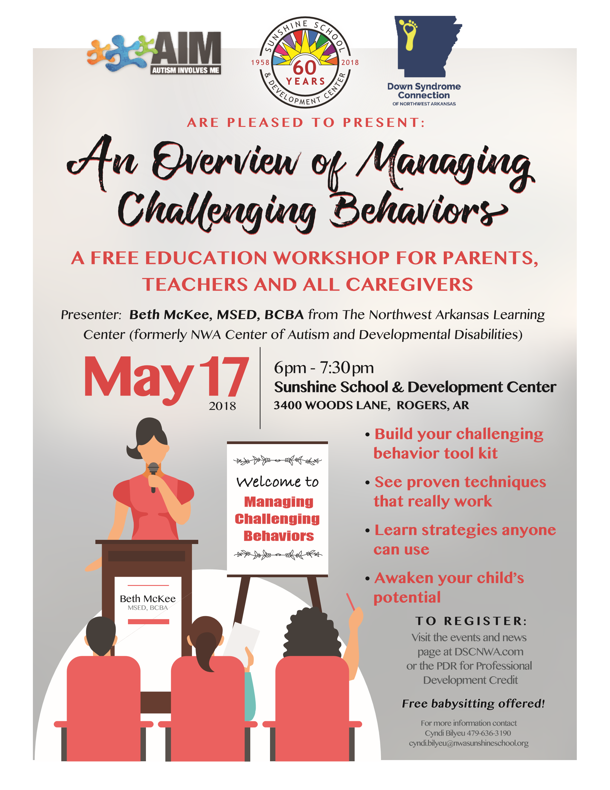 Registration is Full-Managing Challenging Behaviors