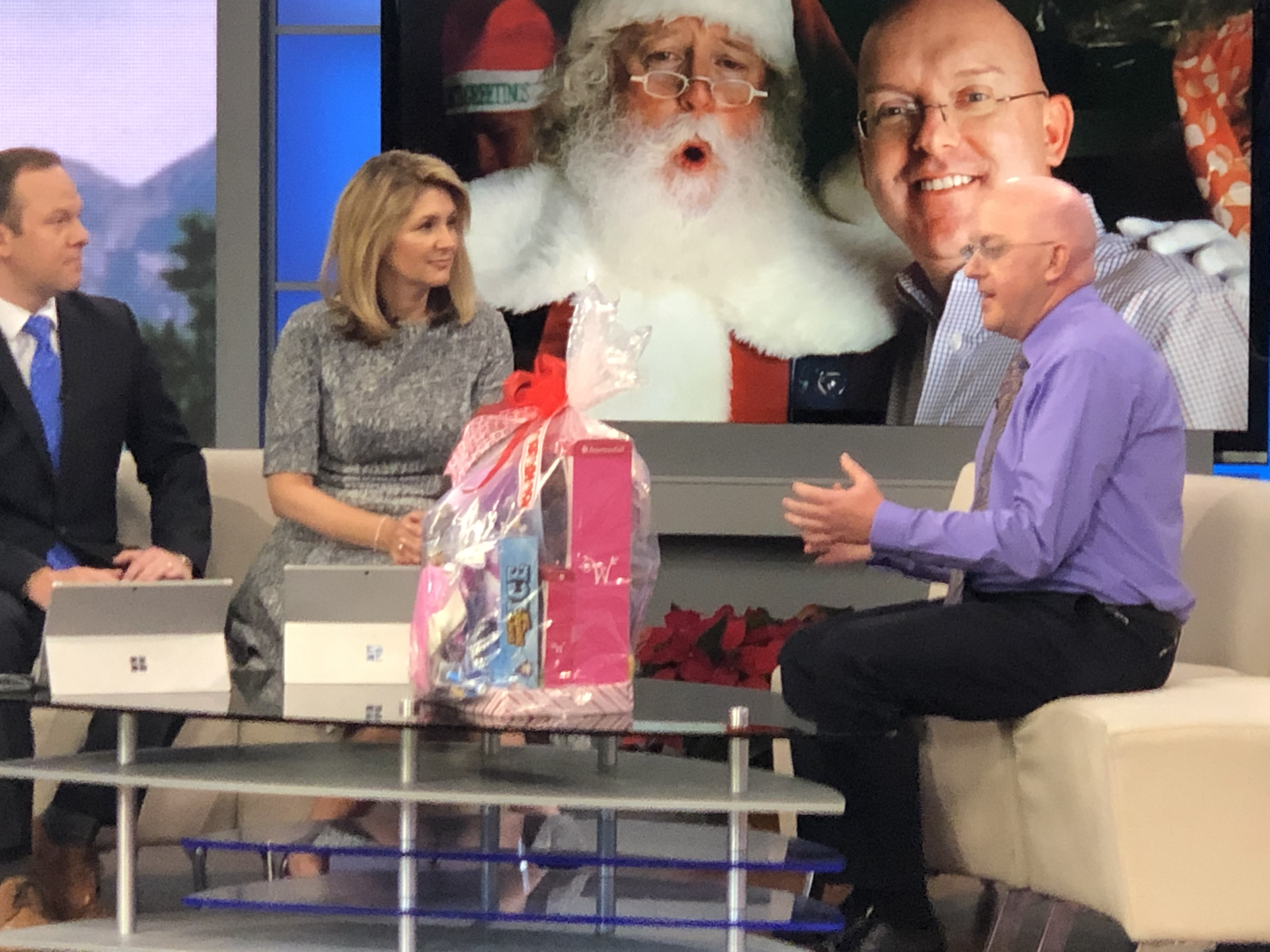 KSL 5 News: Santa Sacks Help Students in Need