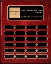 24 Plate Perpetual Plaque