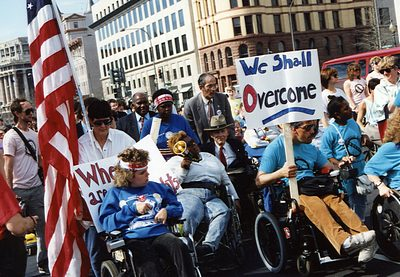 Disability Rights Advocates Protest Department of Justice Action