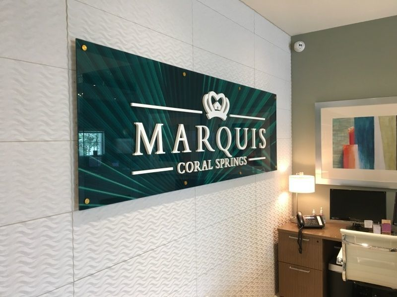 Indoor & Outdoor Signage for Multi-Family Developments - Lobby Signs - Sign Partners, Melbourne, FL