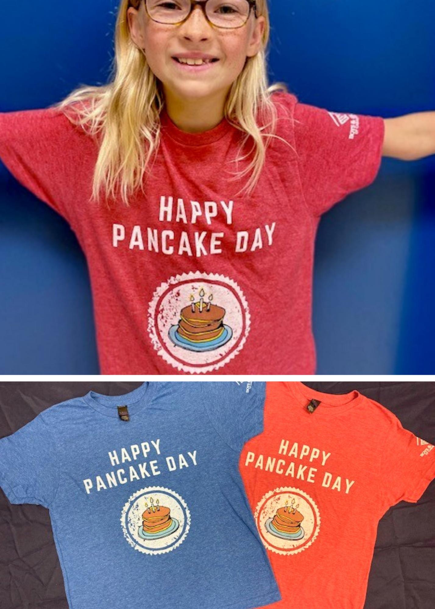 Happy Pancake Day Short Sleeve