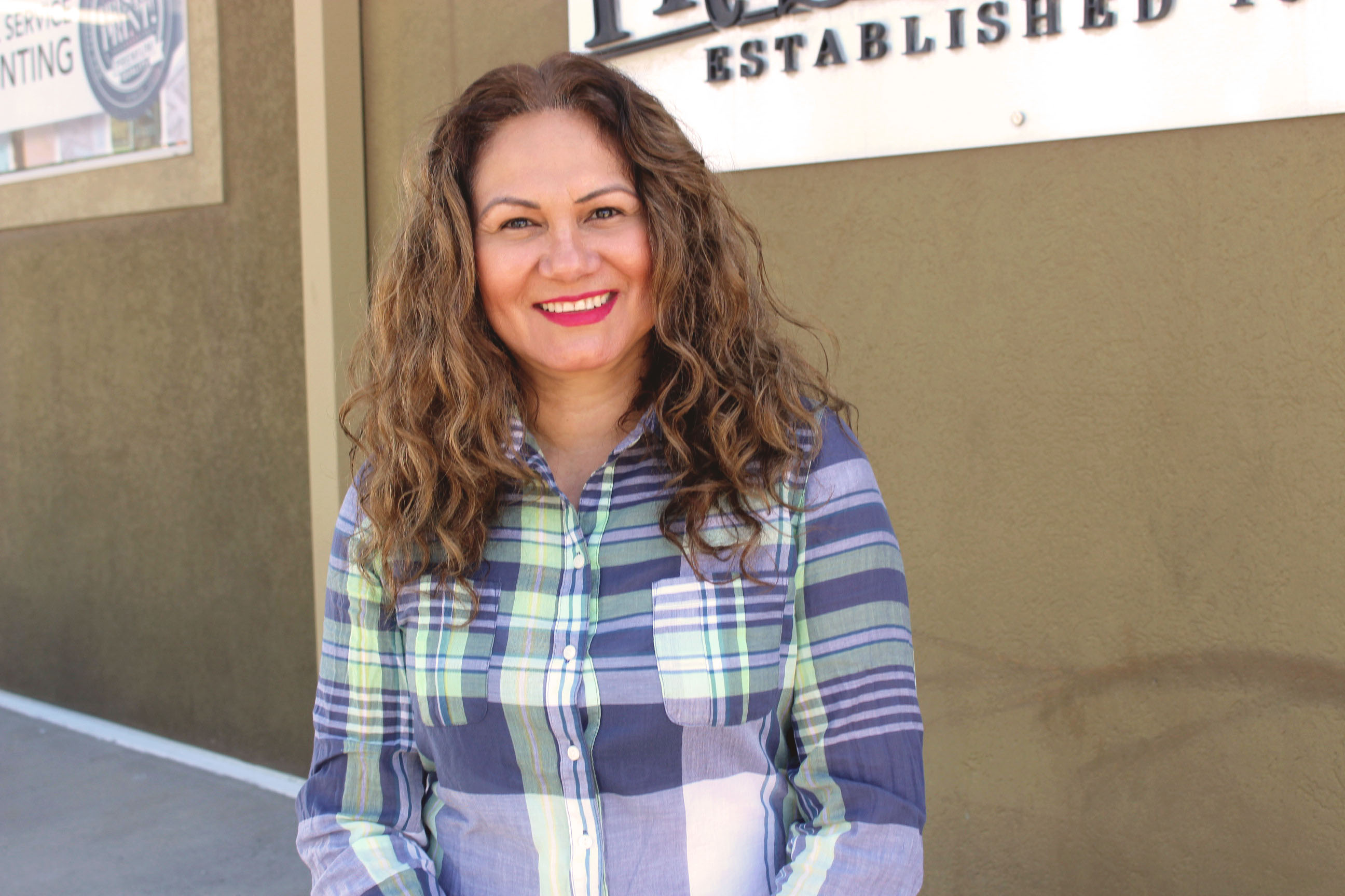 Maite Espinoza- Customer Service & Bindery