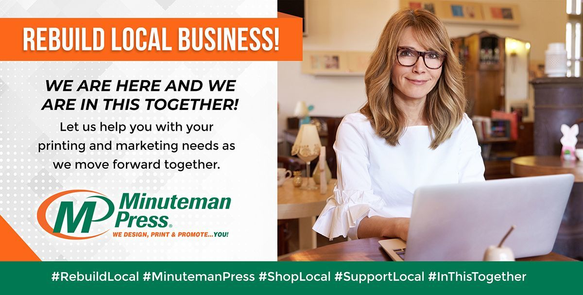 Let's work together to build your brand with Minuteman graphic design services, printing, and promotional products. Call us at 217-355-0500.