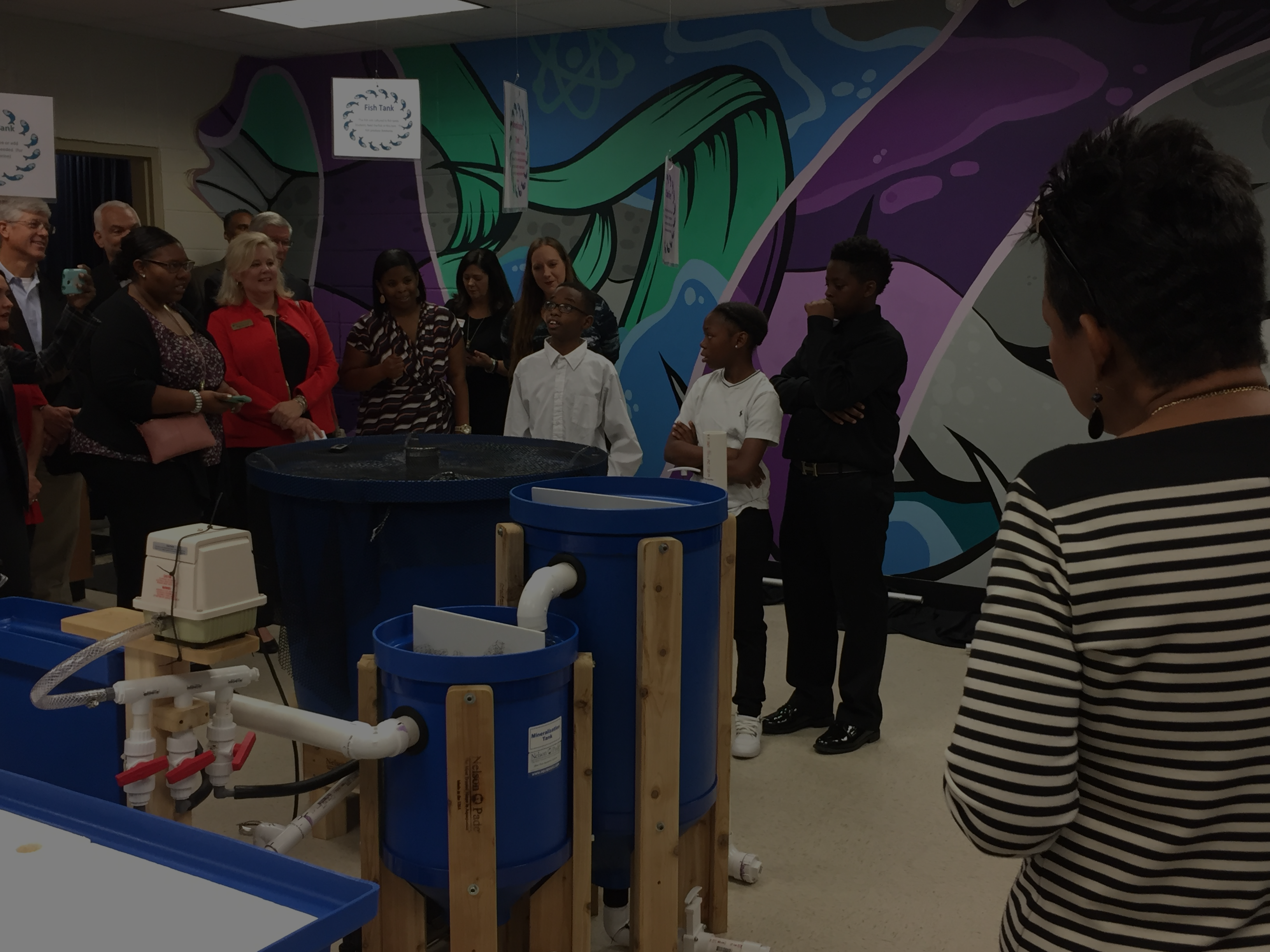 ExxonMobil Allocates $300,000 to Support Education and Reveals New Aquaponics Lab at Brookstown Middle School