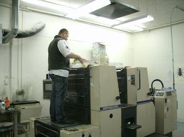 Shinohara 2-Color Printer