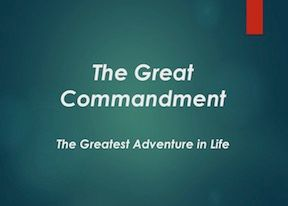 Thre Great Commandment