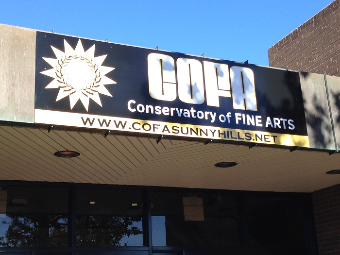 Performing Arts Sign