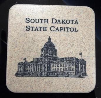 State Capitol - Stone Coaster
