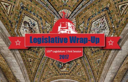 NHA Legislative Wrap-Up: 2017 by the Numbers