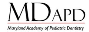 Maryland Academy of Pediatric Dentistry