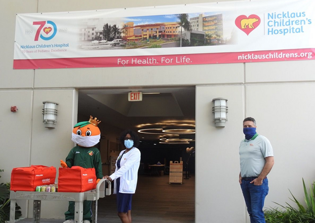 Junior Orange Bowl Giving back to our local heroes