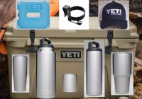 YETI Package - Tundra 45 Package with Ramblers, Bottles, ice, etc. valued @ $619.00