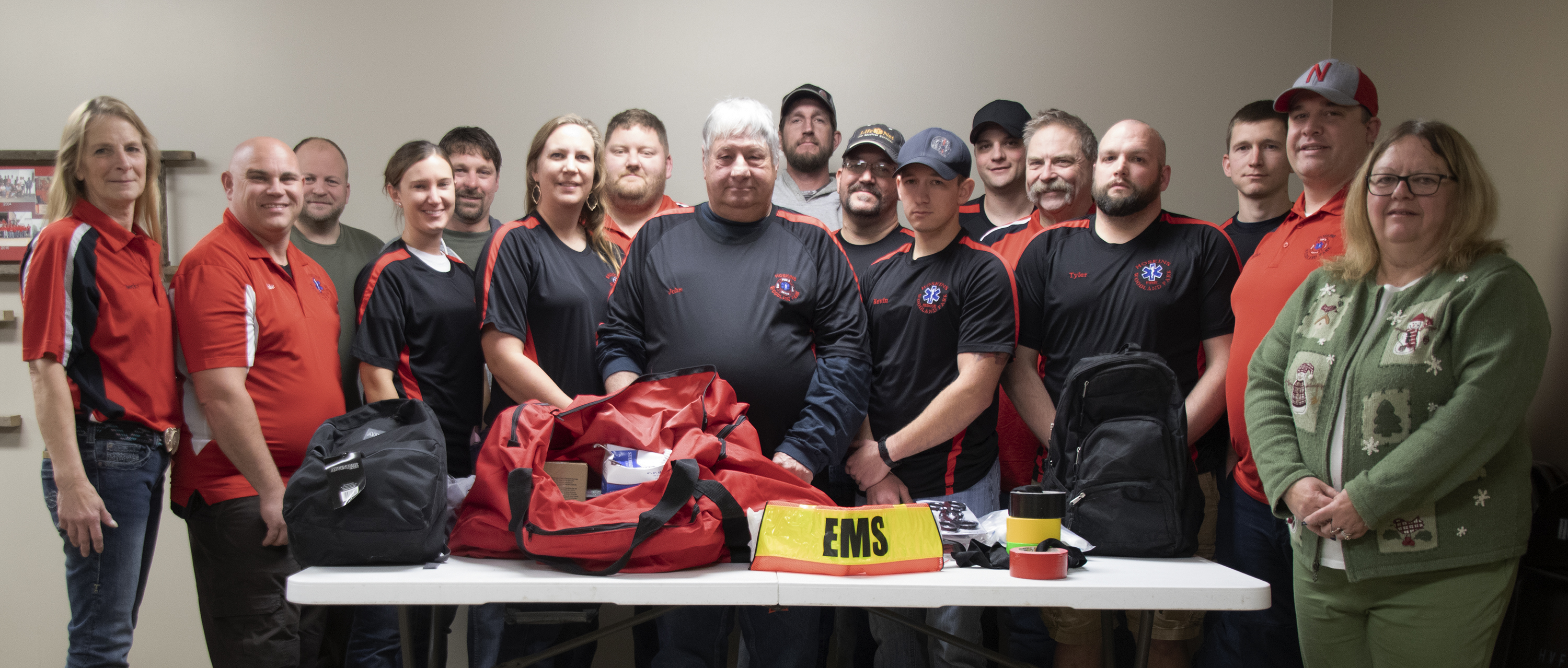 Village of Hoskins purchases safety items for the Rescue Team