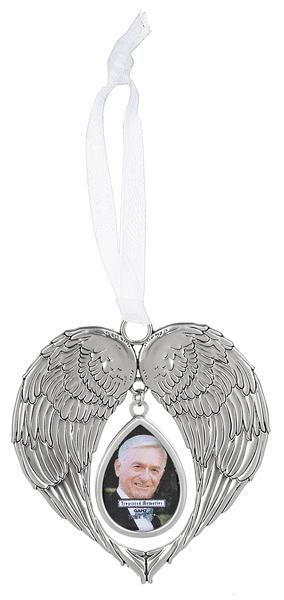 Forever Loved Angel Wing Ornament Frame