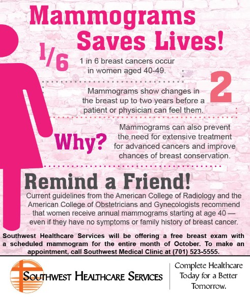 southwest healthcare services   patient services   bowman clinic   breast cancer awareness