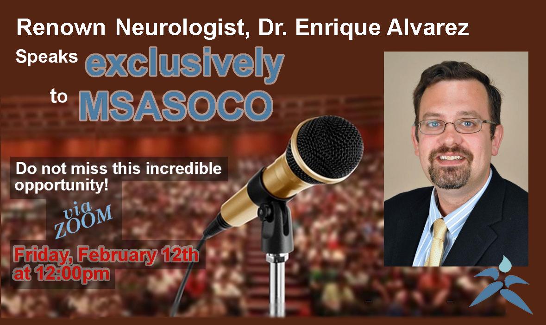 Dr. Enrique Alvarez Exclusive Zoom Event