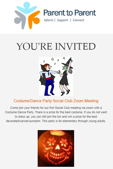 Social Hour - Costume Party