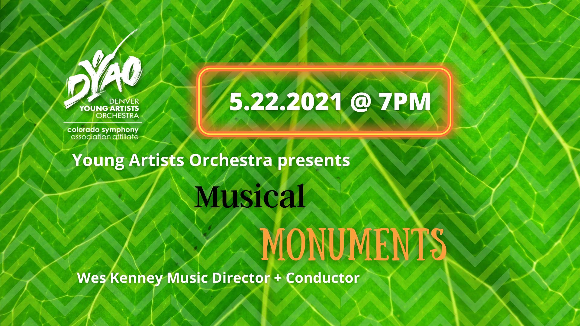 YAO Viritual Concert: Musical Monuments