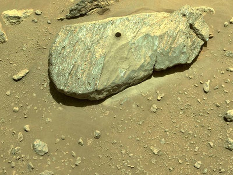 First Mars Sample Stored