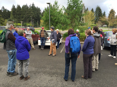 BOTANY WALK MAY 6, 2017 - A GREAT CHANCE TO LEARN ABOUT PLANTS