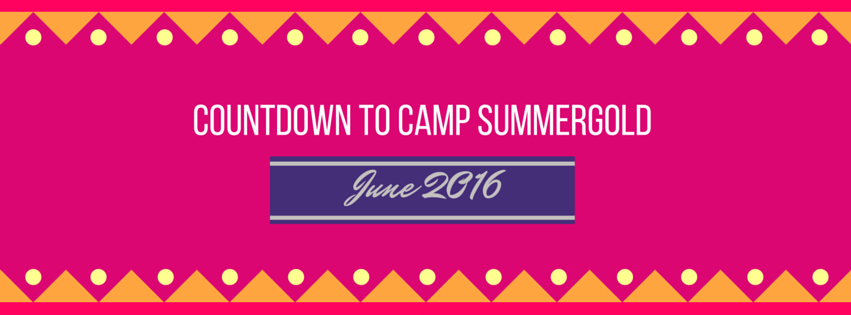 Countdown to Camp!
