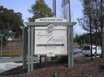 Site Sign Custom Wood