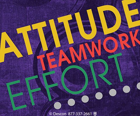 Attitude Teamwork Effort