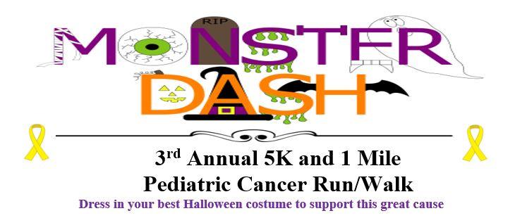 2019 Monster Dash 5K run/ 1 mile walk