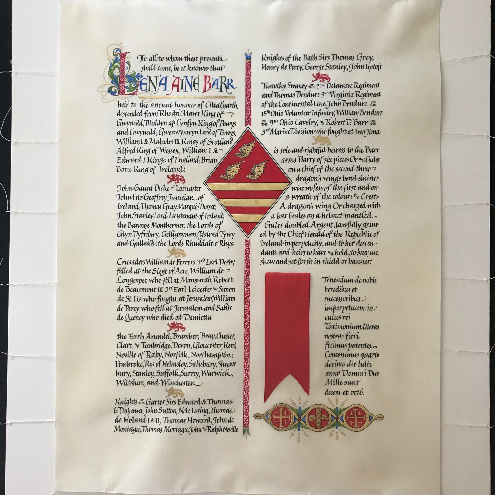 Grant of Arms (Genealogy)