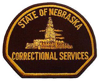 State of Nebraska Department of Corrections Badge