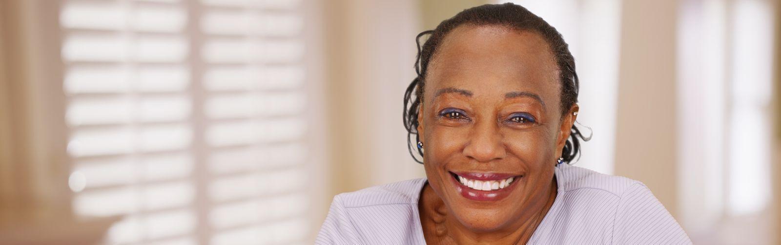 Stock photo Black lady