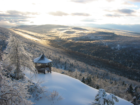 Snowshoe to Copes Lookout