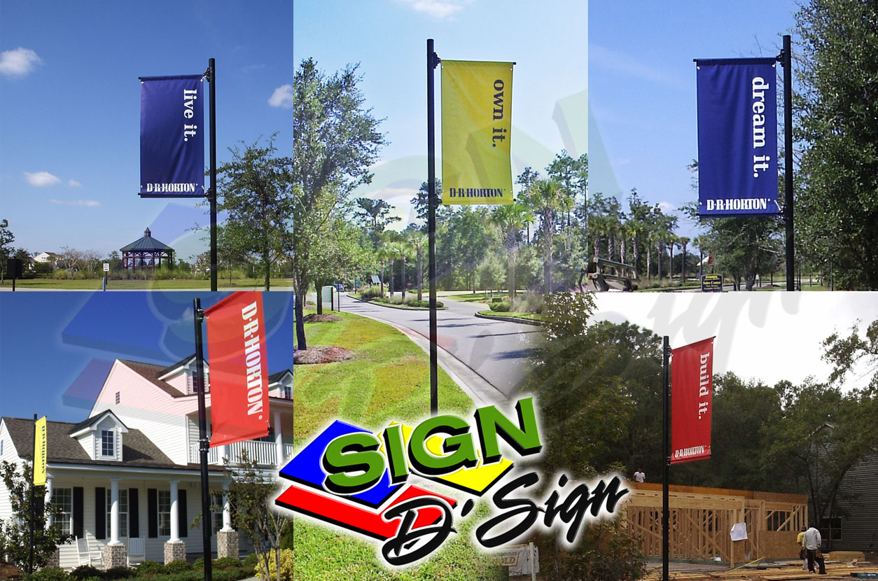 D.R. Horton lifestyle banners