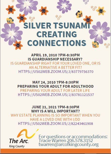 Silver Tsunami Creating Connections - WHY IS A WILL IMPORTANT?
