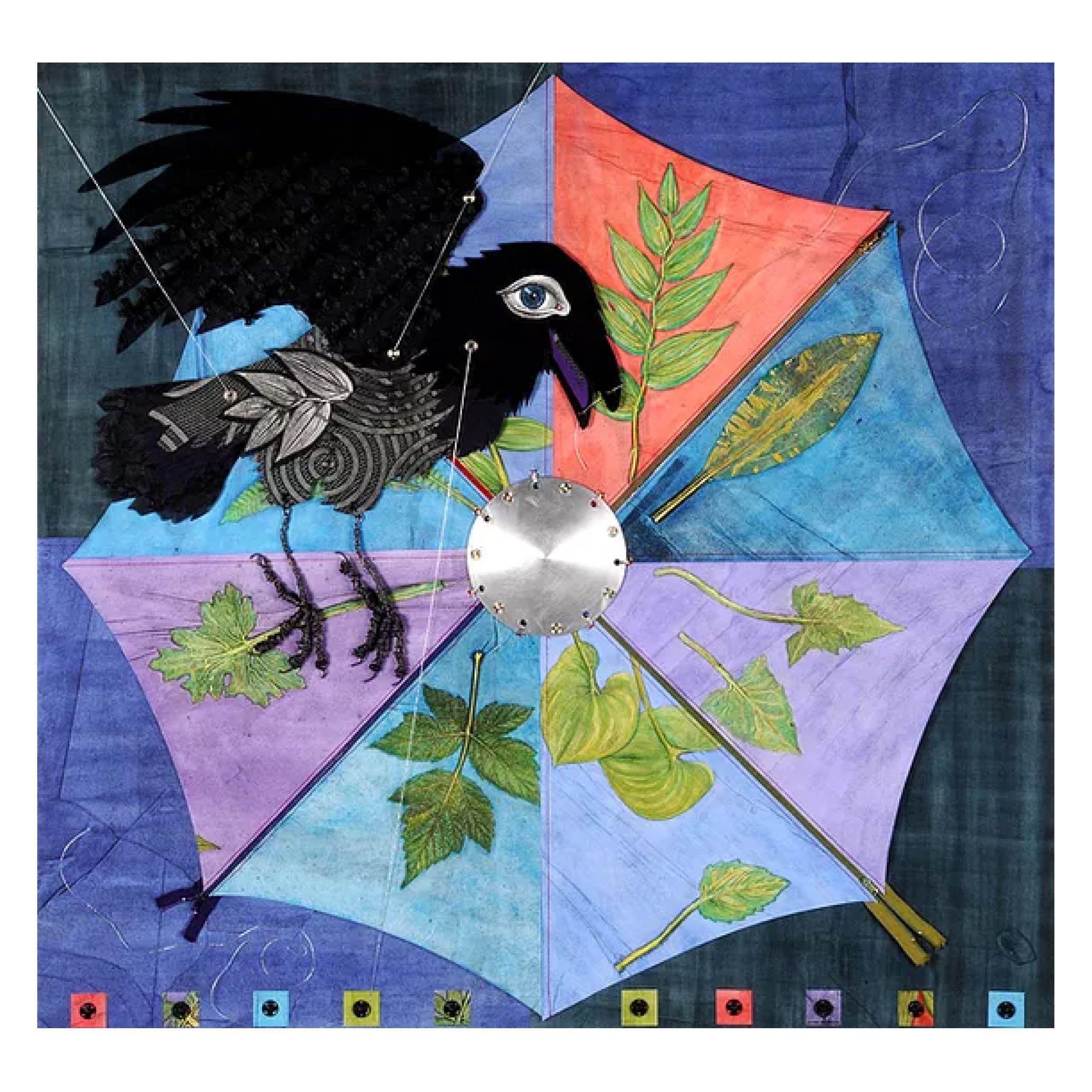 """""""Raven's Wheel IV: Umbrella"""" - Evon Zerbetz"""