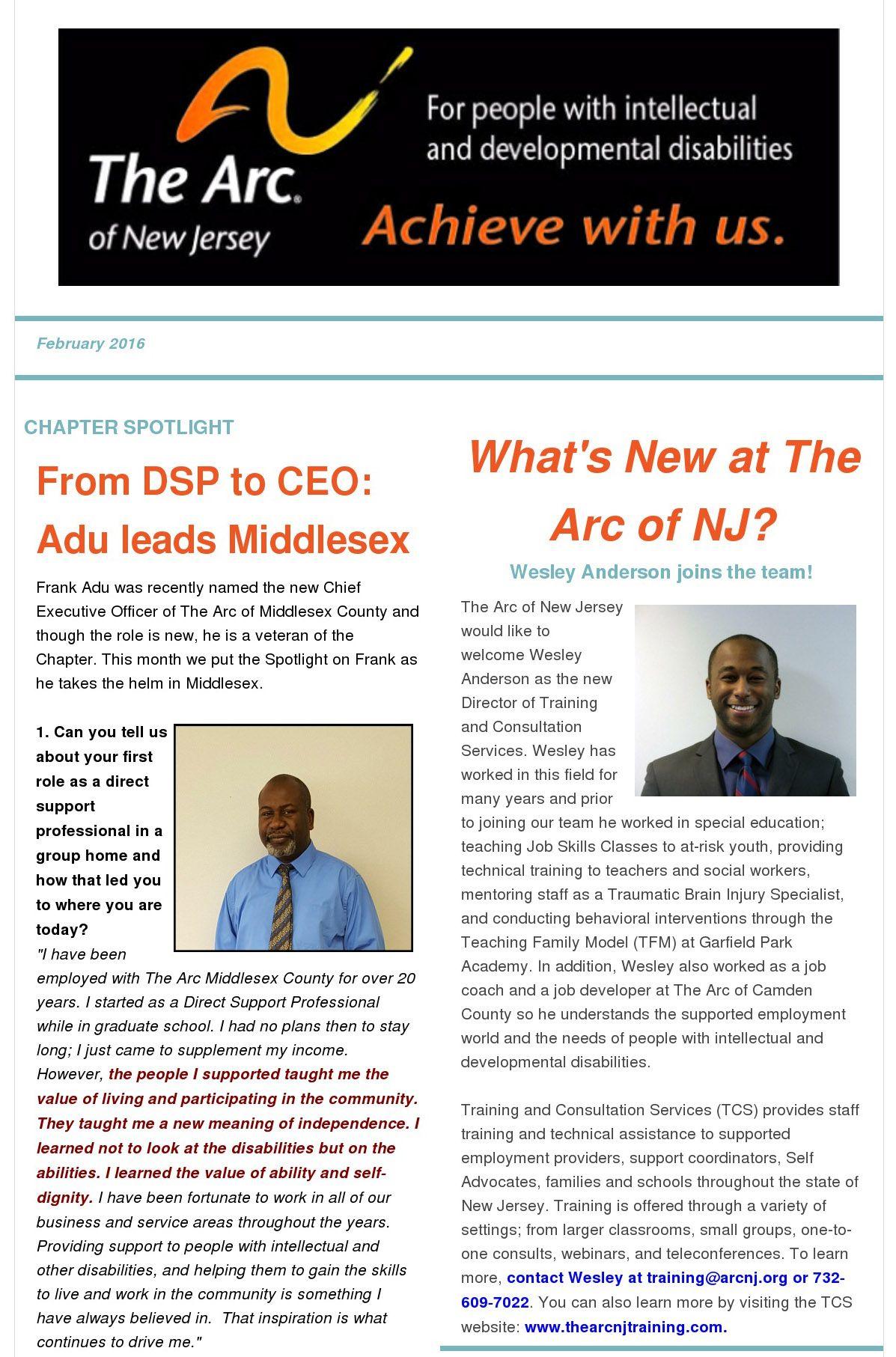February E-Newsletter