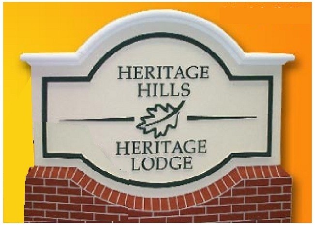 T29008 - Entrance Sign for Mountain Lodge
