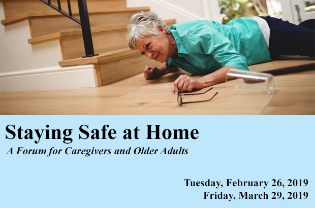 2019 Staying Safe at Home Forum