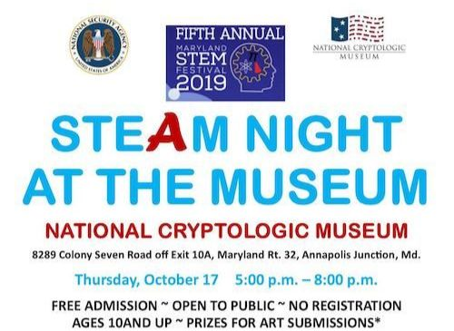 Come out for STEAM Night at the NCM on 17 October