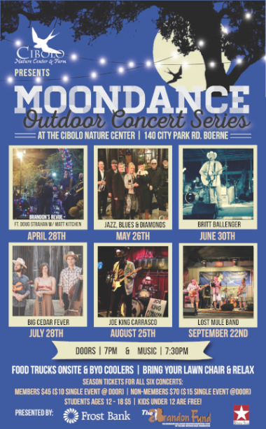 CNC: Moondance at the Cibolo