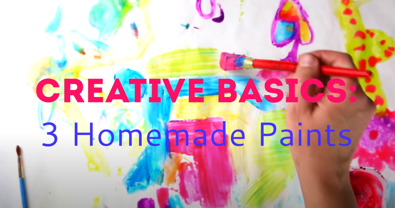 3 Easy Homemade Paints