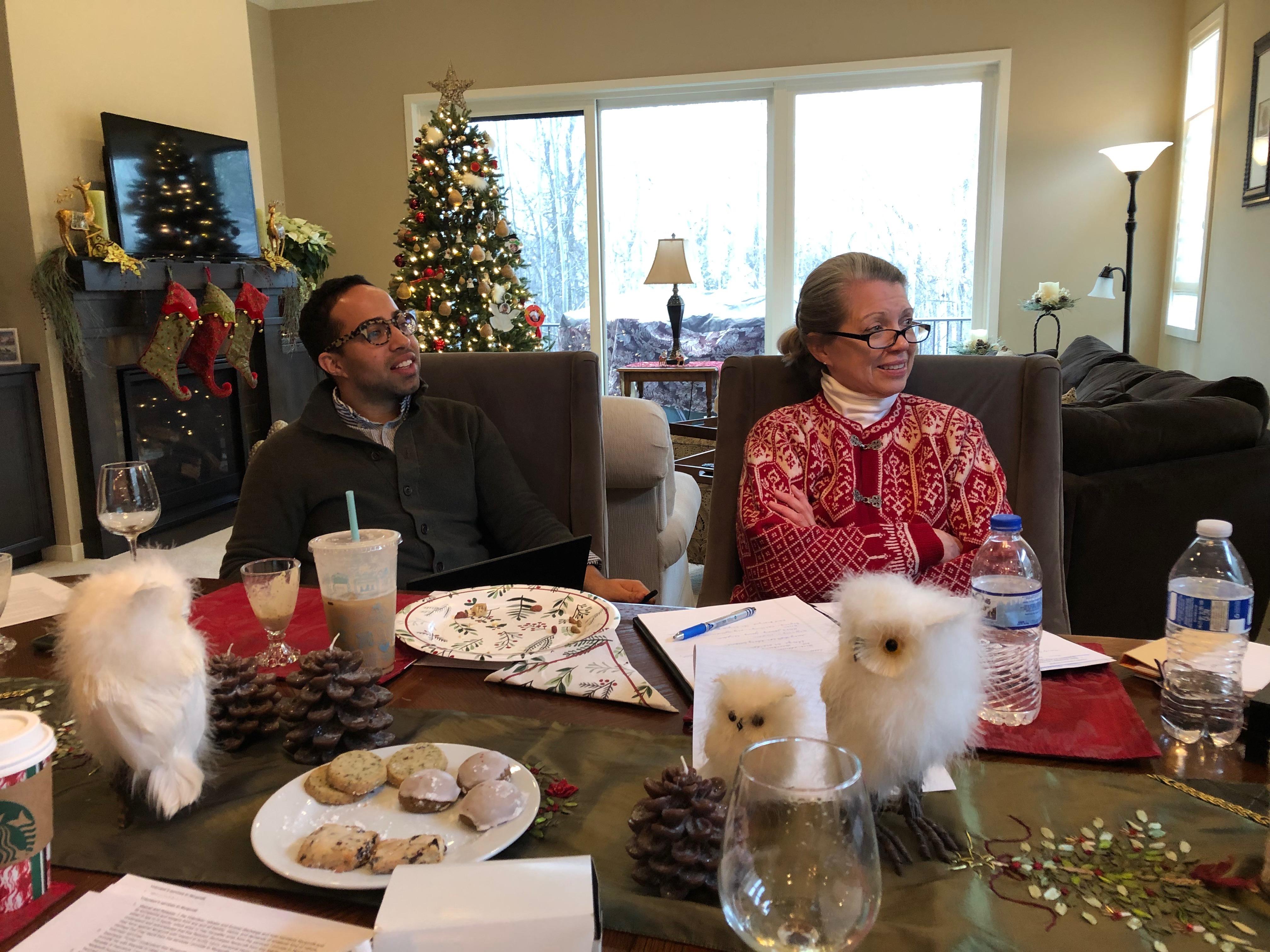 December 2018 Volunteer Team Meeting