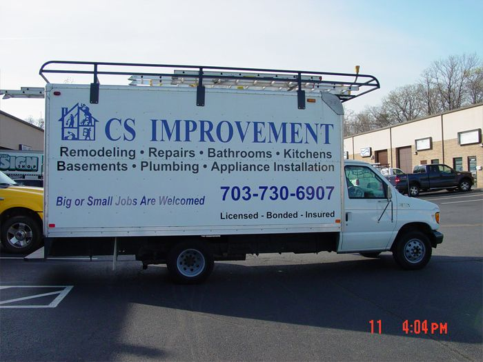 CS Improvement Truck Graphics