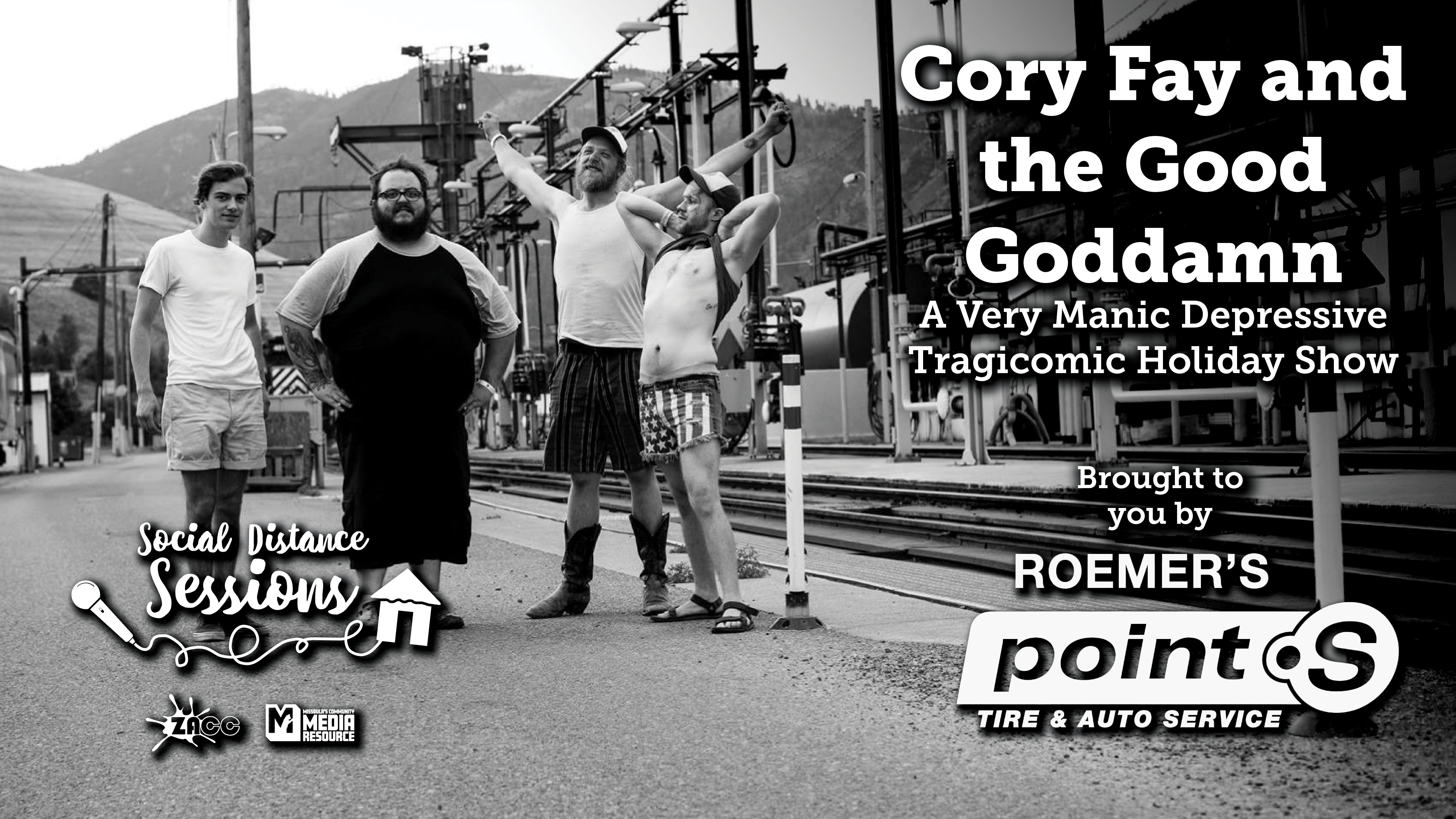 Social Distance Sessions: Cory Fay and the Good Goddamn