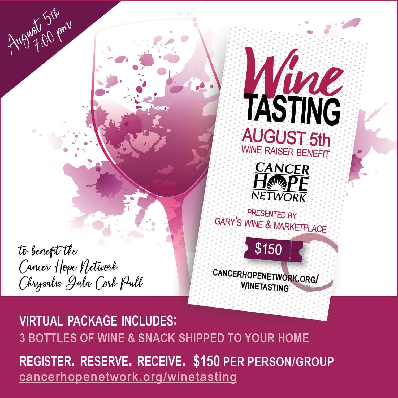 CHN Hosts Virtual Wine Tasting