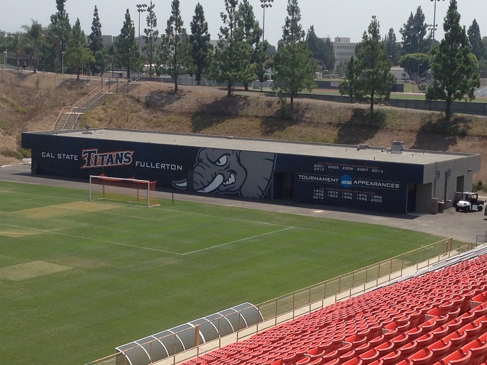 Stadium Wall Wrap