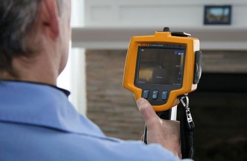Thermal Imaging camera used during energy testing